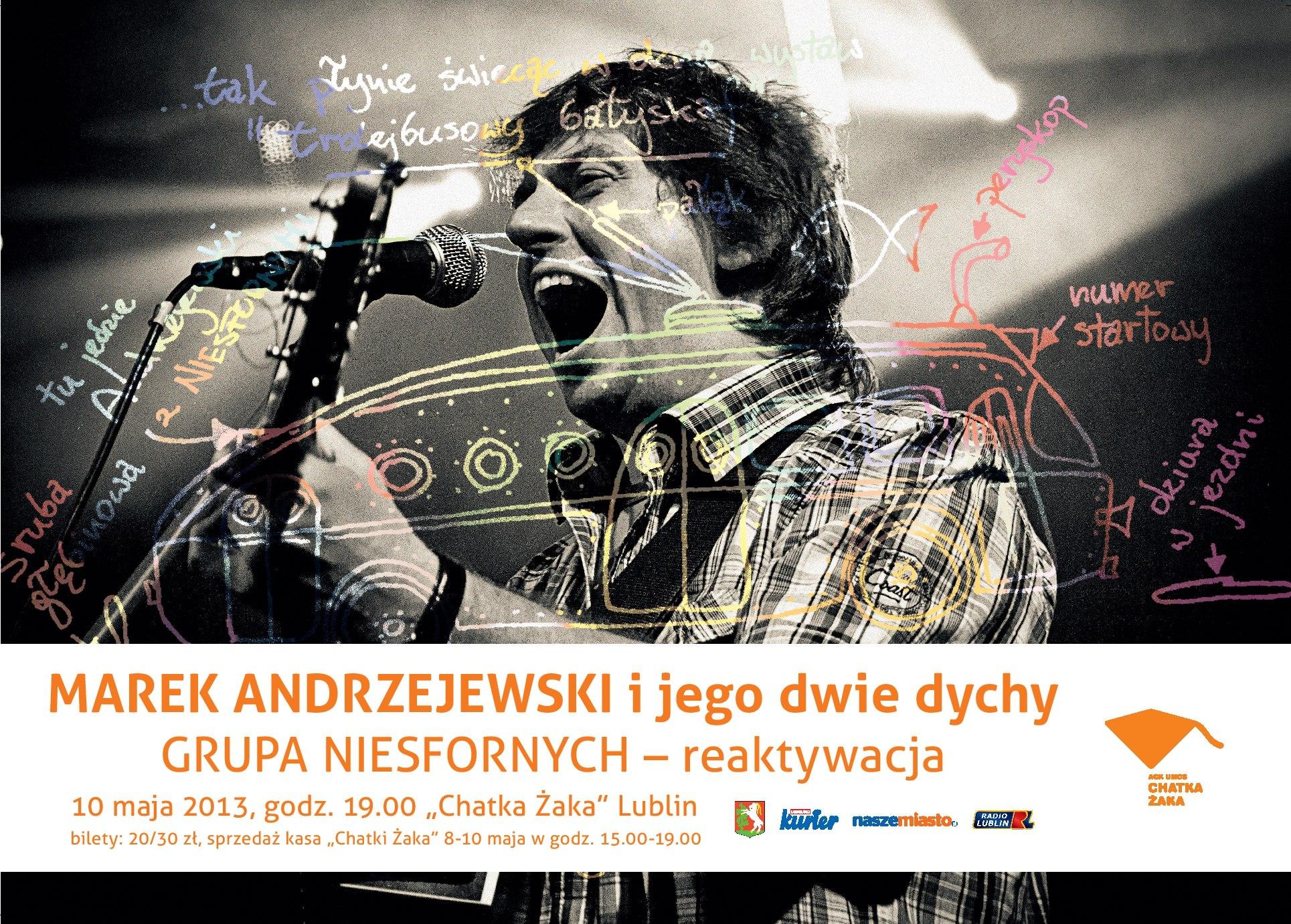 Marek Andrzejewski i jego dwie dychy